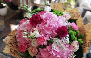 Kwiaty u Violi Chełmza
