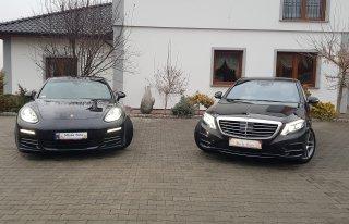 Wynajem na Ślub Wesele Mercedes S-klasa Maybach Porsche Panamera Rybnik