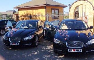 Dwa piekne Jaguary do ślubu Białoystok