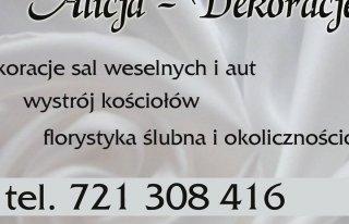 Alicja dekoracje weselne Oleśnica
