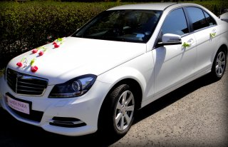 Luksusowy Biały Mercedes W204 Nowy Sącz