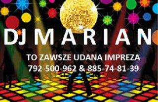 DJ MARIAN & zespół MAX miX Ostrów Wielkopolski