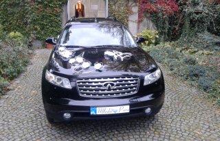 Auto do ślubu Infiniti fx Łódź