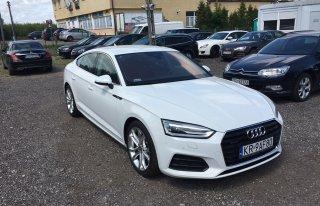Piękna biała Audi A5 z czerwca 2017r - idealna do ślubu  Kraków