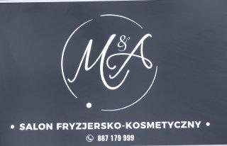 Salon fryzjersko - kosmetyczny M&A Zielona Góra