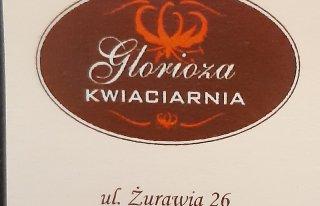 "Kwiaciarnia ,, Glorioza "" Warszawa"