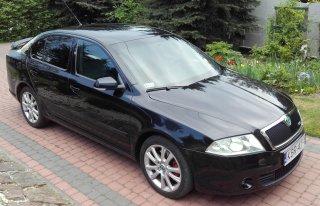 Wynajem auta do ślubu Skoda Octavia VRS Bochnia