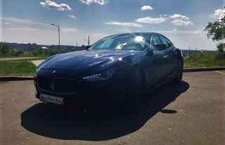 Auto do Ślubu / Samochód Do ślubu / Maserati Ghibli Częstochowa