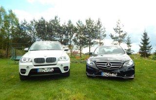 BMW X5 lub MERCEDES-BENZ - WYNAJEM AUTA DO ŚLUBU Słupsk