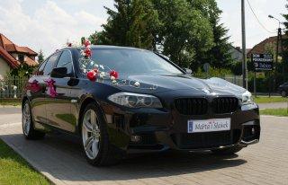 Limuzyna Auto do ślubu BMW 5 F10 - Wesela Mazowieckie Warszawa Warszawa