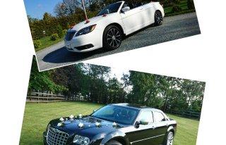 Chrysler 200S CABRIO i Chrysler 300C Limuzyna - Auto Samochód do Ślubu Żyrardów