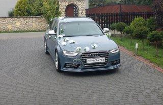 wynajem samochodu na ślub Rogów