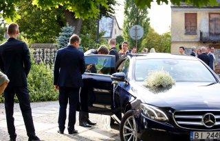 Mercedes E-klasa 2016 rok ; pełny transport gości! (bus, autobus) Warszawa
