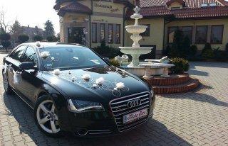 Piękne Audi a8 do ślubu Dąbrowa Górnicza