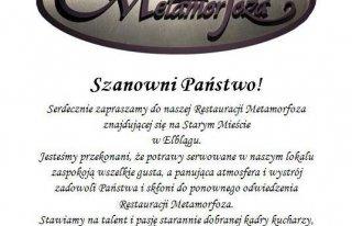 Restauracja Metamorfoza Elbląg