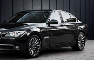 BMW 7 F01 BLACK LIMOUSINE Łódź