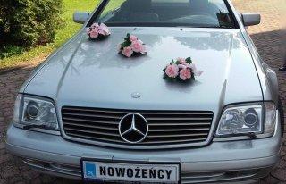 Mercedes SL 500 do ślubu Rzeszów