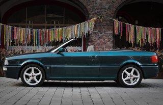 Auto do ślubu -Audi Cabrio SOSNOWIEC