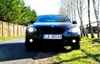 BMW E60 530XD Shadow Line , Auto do ślubu Biała Podlaska , Cała Polska Biała Podlaska