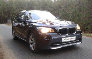BMW X1 - do ślubu, na wesele, sesji... Kartuzy