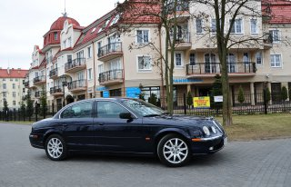 Jaguar S Type/Mercedes SLK Ełk