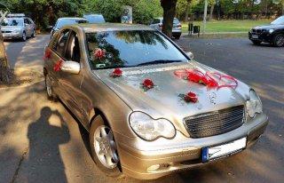 Samochód zawiozę do ŚLUBU unikalnym Mercedesem C200 ŁÓDŹ