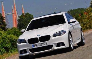 BIAŁE BMW 5 - MAZOWIECKIE Warszawa