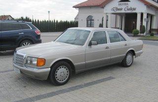 Piękny złoty Mercedes W126 ! wyjątkowy, dostojny, z klasą Stalowa Wola
