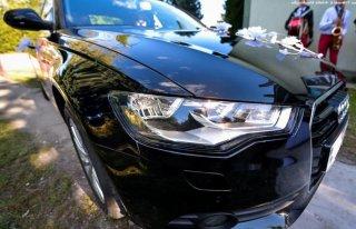 Audi A6 C7 Blacky do Ślubu LIMUZYNA WOLNE TERMINY Świętokrzyskie Kielce