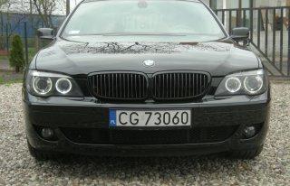 BMW serii 7 do ślubu Grudziądz
