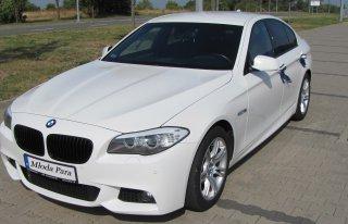 Białe BMW 528i 245 KM Ksawerów