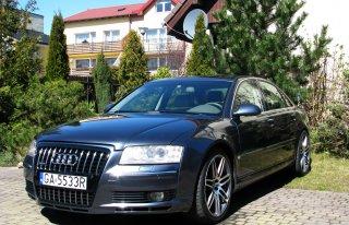 """Piękne A8 W12 20"""" LIFT 2008 Gdynia"""