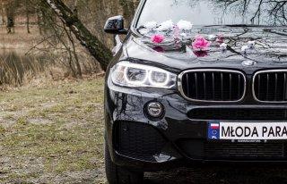 Samochód do ślubu Auto na ślub BMW X5 M Gniezno