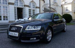 A6 Audi na wesele Kazimierza Wielka
