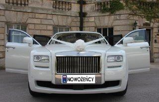 Rolls Royce Ghost ślub wesele Poznań Poznań