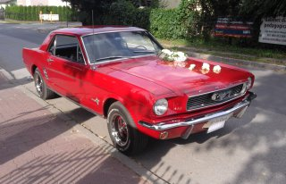 Ford Mustang, Cadillac, fiat 125p Łochowo