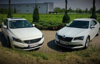 Volvo s60 i Skoda Superb - 2017! Kraków