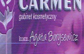 Salon Carmen Agata Borysewicz tel. 606736496 Giżycko