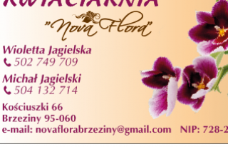 Nova Flora Kwiaciarnia Brzeziny
