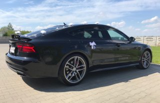 Auto do ślubu Audi A7 S-Line Black Ediotion 2017 ŁÓDŹ