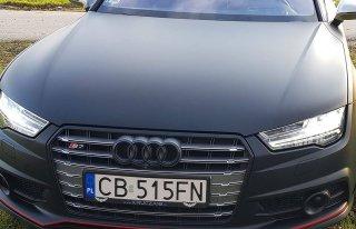 Auto do ślubu - Audi S7 Gdańsk