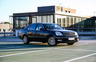 Auto do ślubu Lexus LS430 Białobrzegi
