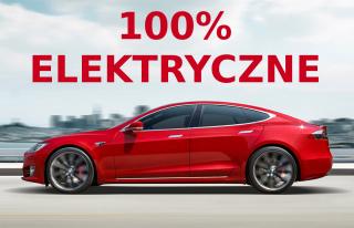 Elektryczne auto do ślubu - Tesla S Katowice