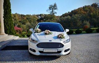 Samochód do Ślubu FORD MONDEO | SEAT ATECA |Piękna Biała Perła. BRZESKO