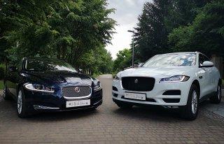 Jaguarem Do Ślubu - Wynajem Samochodów Luksusowych JAGUAR F-PACE Biały Łódź