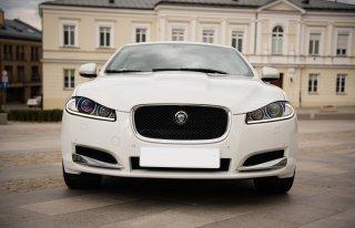 Ekskluzywny Jaguar XF do ślubu  Kielce