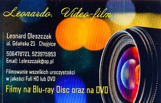 LEONARDO Video Film Chojnice