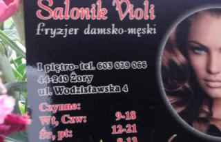 Salonik Violi -Salon fryzjerski Żory