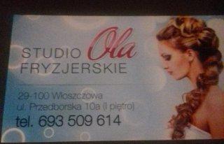 Studio Fryzjerskie Ola Włoszczowa