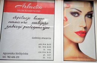 Salon kosmetyczny Arkadia Rakoniewice